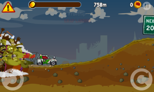 Скачать игру Zombie Road Trip Trials на android бесплатно.